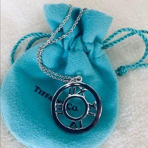 Tiffany & Co Atlas Necklace Sterling Silver